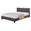Varick Gallery Borough Park Double Upholstered Platform Bed