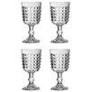 Premier Housewares Pyramid 250ml Wine Goblet (Set of 4)
