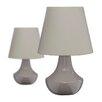 Premier Housewares 28cm Table Lamp (Set of 2)