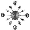 Premier Housewares Cutlery Wall Clock