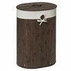 Castleton Home Kayo Oval Wicker Laundry Bin