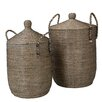 dCor design Pigra 2 Piece Basket Set