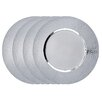 """Old Dutch International 16"""" Stainless Steel Charger Plate (Set of 4)"""