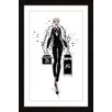 """Marmont Hill """"Queen Bae"""" by Loretta So Framed Graphic Art"""
