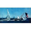 Marmont Hill Fallen Sail Photographic Print Wrapped on Canvas