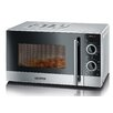 SEVERIN 20L 700W Countertop Microwave with Grill in Silver
