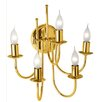 LIS Retro 5 Light Candle Sconce