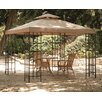 Geese 3m x 3m Fabric/Lacquered Iron Gazebo