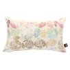 Yorkshire Fabric Shop Oval Leaf Scatter Cushion