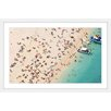 """Marmont Hill """"Boat Party"""" Framed Photographic Print"""