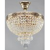 Maytoni Chandeliers Diamant Crystal Palace 4 Light Semi-Flush Ceiling Light