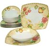 Creatable Country 12 Piece Dinnerware Set, Service for 6