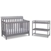 Delta Children Harbor 4-in-1 Convertible 2 Piece Crib Set