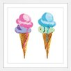 Marmont Hill 'Ice Cream' by Molly Rosner Framed Painting Print