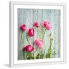 Marmont Hill 'Pink Ranunculus' by Sylvia Cook Framed Photographic Print