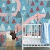 Inke Wall Print Mural - Country Lane 3m H x 200cm W 4 Panels Roll Wallpaper