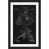Marmont Hill 'Velocipede 1880 Black Paper' by Steve King Framed Graphic Art
