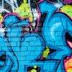 PPS. Imaging GmbH Colours of Graffiti 255cm L x 384cm W Roll Wallpaper