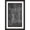 Marmont Hill 'Automobile 1919 Chalk' by Steve King Framed Graphic Art