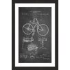 Marmont Hill 'Bicycle 1891 Chalk' by Steve King Framed Graphic Art