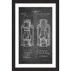 Marmont Hill 'Lantern 1894 Chalk' by Steve King Framed Graphic Art