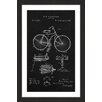 Marmont Hill 'Bicycle 1891 Black Paper' by Steve King Framed Graphic Art