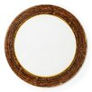 """VIETRI Earth Glass 12.75"""" Charger Plate"""