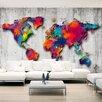 Artgeist Concrete World 2.45m x 350cm Wallpaper