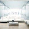 Artgeist White City 2.45m x 350cm Wallpaper
