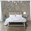 Artgeist Silver Serenade 2.45m x 350cm Wallpaper