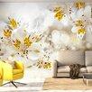 Artgeist Sunny Alstroemeria 2.45m x 350cm Wallpaper