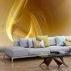 Artgeist Gold Fractal Background 1.54m x 200cm Wallpaper