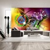 Artgeist Magic Light of Colours 2.8m x 400cm Wallpaper