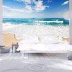 Artgeist Foamy Sea Wave 2.45m x 350cm Wallpaper