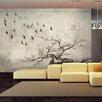 Artgeist Flock of Birds 3.09m x 400cm Wallpaper