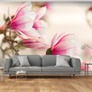 Artgeist Branch of Magnolia Tree 309cm x 400cm Wallpaper