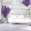 Artgeist Lavender Postcard 2.45m x 350cm Wallpaper