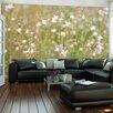 Artgeist Delicate White Flowers 1.93m x 250cm Wallpaper