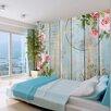 Artgeist Vintage Garden 2.45m x 350cm Wallpaper