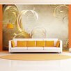 Artgeist Gold Leaf 2.8m x 400cm Wallpaper