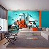 Artgeist Welcome New York 210cm x 300cm Wallpaper