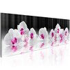 Artgeist Orchids in Water Graphic Art Print on Canvas