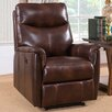 Hyde Line Furniture Graham Leather Layflat Recliner Chair