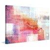 Parvez Taj 'Warm Pink Glow' Graphic Art on Wrapped Canvas