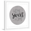 """Marmont Hill """"Home Sweet Home"""" by Diana Alcala Framed Typography"""