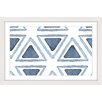 Marmont Hill Triangle Inset Framed Art Print