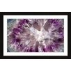 Marmont Hill Crystallized Amethyst Framed Graphic Art