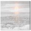 Oliver Gal 'Grey Sea' Painting Print on Wrapped Canvas