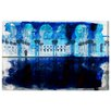 Oliver Gal 'Mirage Palace in Tangier' Graphic Art on Wrapped Canvas