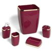 Sweet Home Collection 5-Piece Bathroom Accessory Set